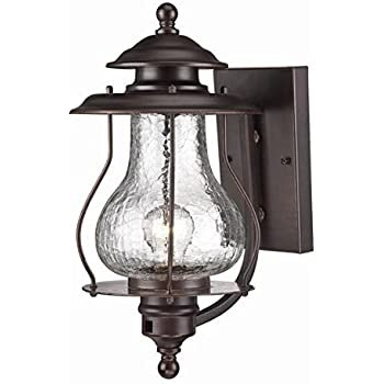 Acclaim 8201ABZ Blue Ridge Collection 1 Light Wall Mount Outdoor Light  Fixture, Architectural Bronze