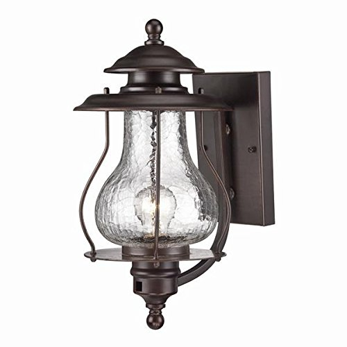 Fixtures Collection Lighting Outdoor (Acclaim 8201ABZ Blue Ridge Collection 1-Light Wall Mount Outdoor Light Fixture, Architectural Bronze)