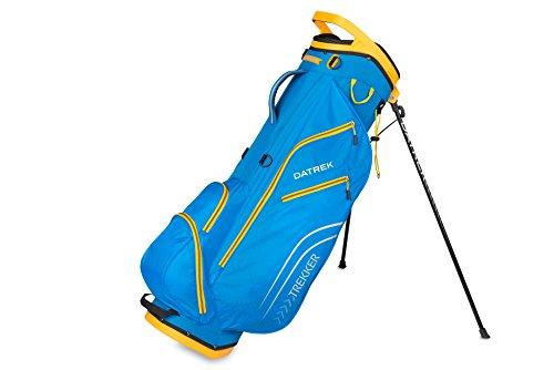 Electric Golf Bag - Datrek Golf Trekker Ultra Lite Stand Bag (Electric Blue/Yellow)