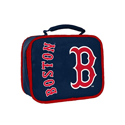 (Officially Licensed MLB Boston Red Sox Sacked Lunchbox, 10.5-Inch, Navy)
