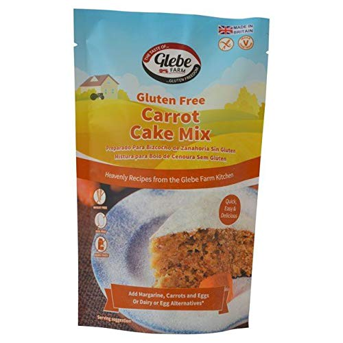Amazon.com : Glebe Farm Gluten Free Carrot Cake Mix 300g ...