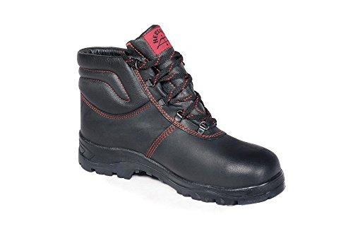 HERKULES Sicherheitsschuhe I Arbeitsschuhe für Bau und Industrie und Landwirtschaft I Bequeme Schuhe S3 I Hergestellt in Deutschland I Hohe Qualität