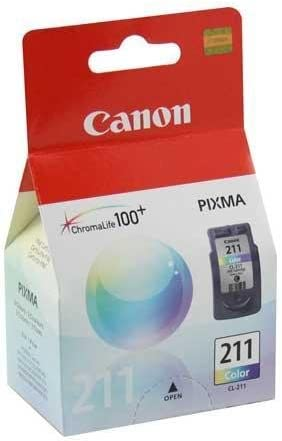 Amazon.com: Canon CL-211 Color Ink Cartridge Inkjet Print ...