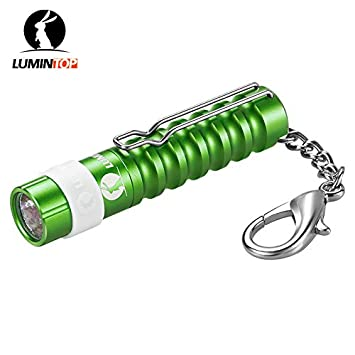 Amazon.com: Luz blanca fría, China: LUMINTOP Mini Gusano AAA ...