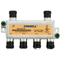 Directv Zinwell 2 X 4 Multi-switch 950-1450 Mhz - 1450 Mhz