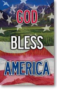 God Bless America (Packet of 100, NKJV) (Through One Man Sin Entered The World Nkjv)