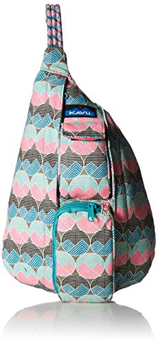KAVU Women's Mini Rope Bag, Horizon Dots, No (Best Bag With Minis)