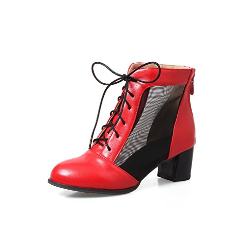 Balamasa Damesslippers Met Comfort Antislip Teennethoes Abl09889 Rood