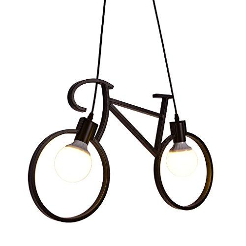 AILI- Chandelier Creativo de la Bici de la habitación de los niños, Dormitorio del Muchacho Que Significa el Techo de la...