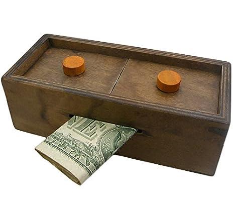 Amazoncom Puzzle Box Enigma Secret Explorer Money And Gift Card