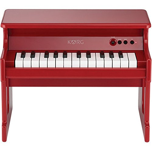 Korg tinyPiano Digital Toy Piano - Red (Best Digital Piano For Kids)