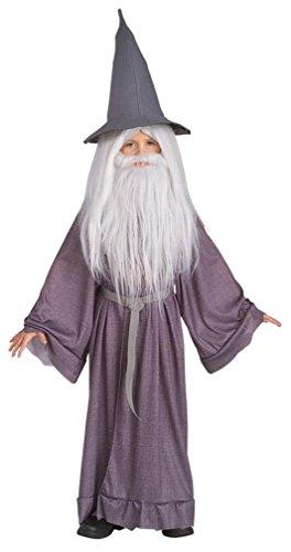 Kids Grey Gandalf Costumes (Gandalf the Grey Costume - Small)