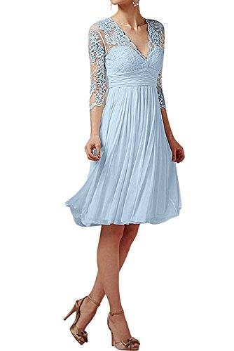 TOSKANA BRAUT - Vestido de novia - trapecio - Mujer azul claro