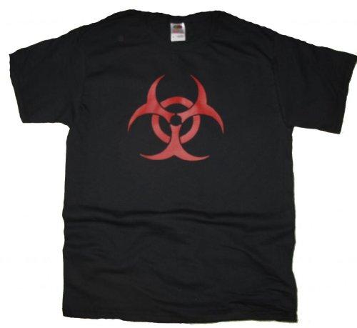 Biohazard Radioactive Symbol T-Shirt