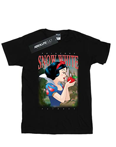 Montage Woman camiseta estilo negro Disney boyfriend Snow White pnFtpq7f