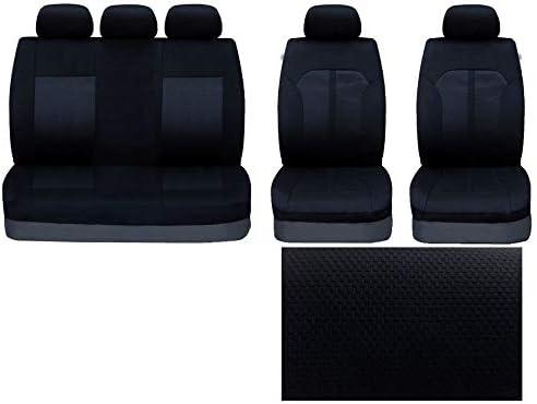 UKB4C Modern Full Set Front /& Rear Car Seat Covers for Rav 4 All Models