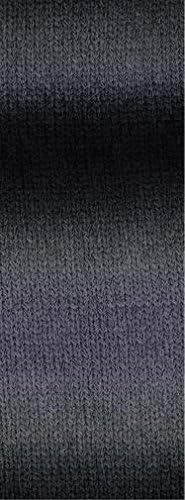 Wolle Kreativ 105 rot//schokobraun 50 g Cashmere 16 Fine Degradé Lana Grossa