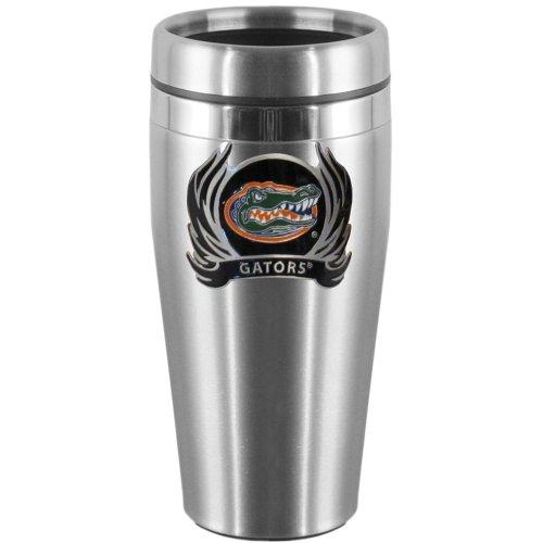 - NCAA Florida Gators Steel Travel Mug with Flame Logo