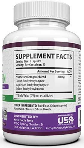 Rapid Burn Keto Fast Diet Pills - Metabolism Booster Exogenous Ketones for a Ketogenic Diet 4