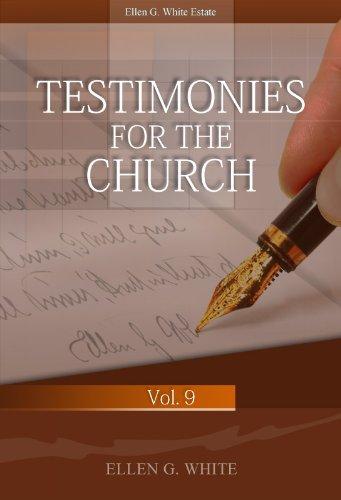 Testimonies for the church volume 9 kindle edition by ellen g testimonies for the church volume 9 by ellen g white fandeluxe Gallery