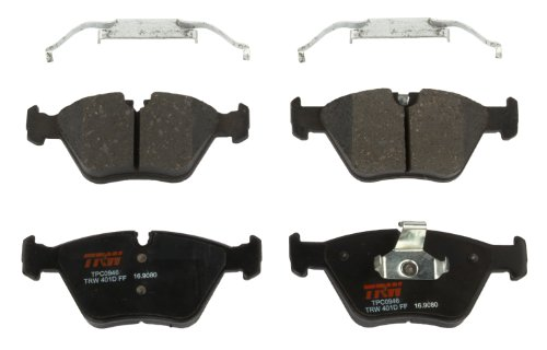 TRW Black TPC0946 Premium Ceramic Front Disc Brake Pad Set