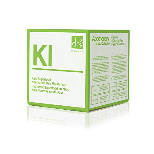 The Apothecary Collection by Dr Botanicals Kale Superfood Nourishing Day Moisturiser 60ml