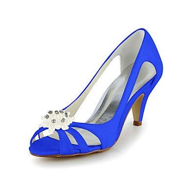 EU37 5 CN37 Stiletto Sandali Heel RTRY 5 Strass Con 7 Satin UK4 5 Matrimonio Pompe Più Colori Scarpe US6 q6FRxRpUwa
