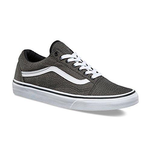 fe140c95d99 Vans Unisex Old Skool Sneaker Black True White Size 11 M US Women 9.5 M US  Men