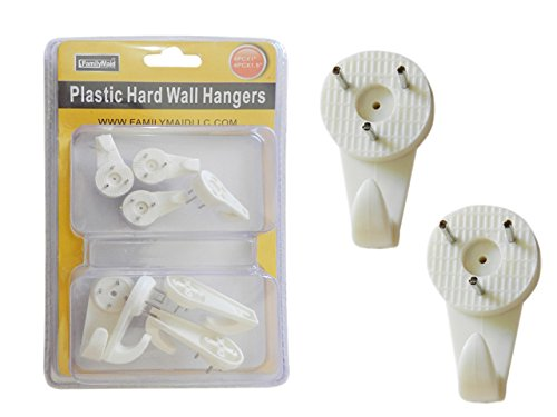 PRE-SET NAIL 8PC W WALL HANGER , Case of 96 by DollarItemDirect