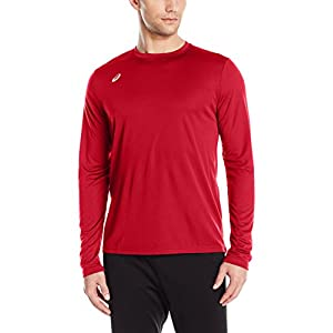 ASICS Mens Circuit 8 Warm Up Long Sleeve