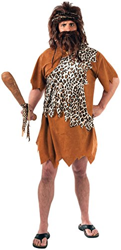 Rubie's Men's Caveman Costume Plus Size Fits 46