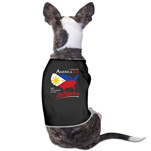 I May Live In America Bu Philippines Dog Clothes