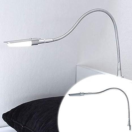 ETA - Juego de 2 lámparas LED de lectura para mesilla de ...