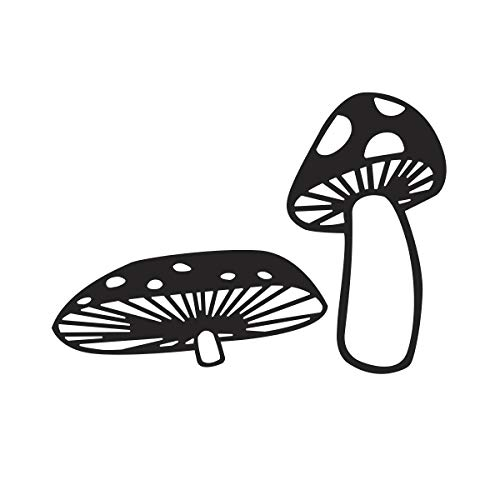 Darice 30032537 Embossing Folder: Mushrooms, 4.25 x 5.75