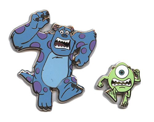 Disney Monsters Inc. University Mike and Sully Running (2 Pin Set)