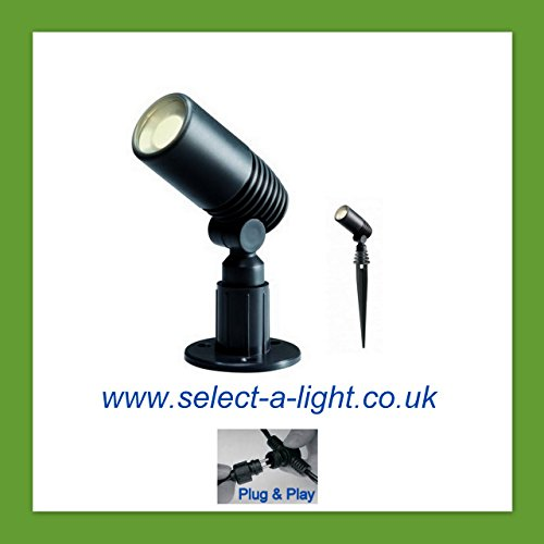 Techmar Miniture Garden Spot Light Only Eco Alder Plug Play