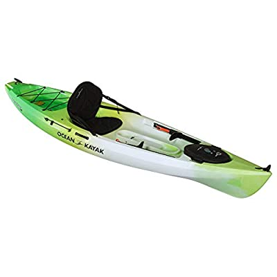 07.6254.1073 Ocean Kayak Tetra 10 One-Person Sit-On-Top Kayak, Envy, 10 Feet 8 Inches from Johnson Outdoors Watercraft