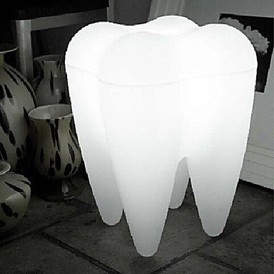 LED Floor Lamp,1 Light,Modern Tooth Shape White Plastic 220-240V
