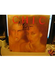 NILE RODGERS / Chic signed album cover / UACC Rd # 212