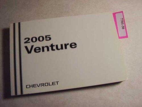 2005 Chevrolet Venture Owners Manual