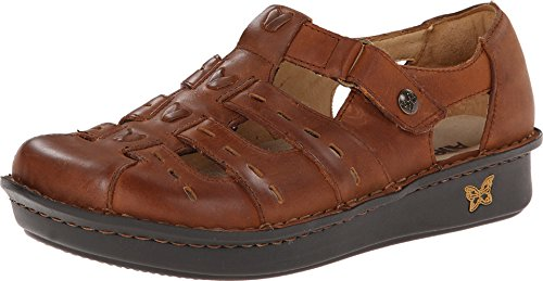 Alegria Women's Pesca Tawny Clog/Mule 39 (US Women's 9-9.5) Regular by Alegria