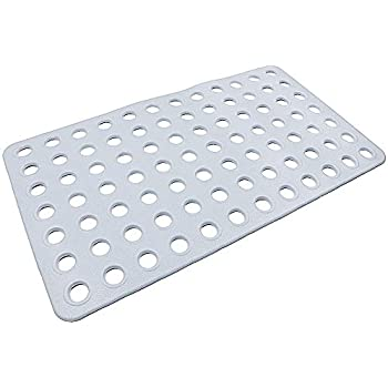 Amazon Com Hy Big Hole Anti Slip Bath And Shower Mat
