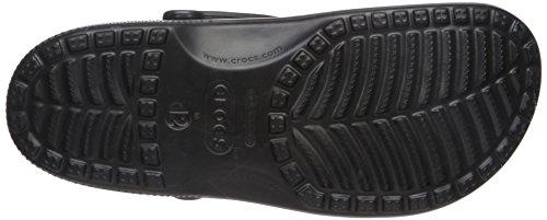 Crocs Mens Ursprungliga Klassiska Svarta Träskor / Skor Us 11