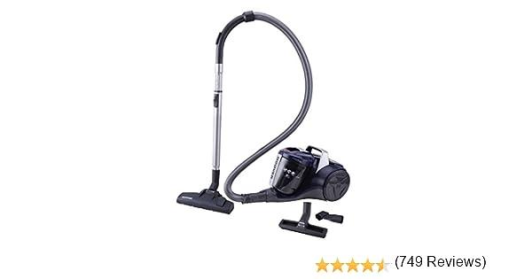Hoover Breeze BR20 - Aspirador sin bolsa, Aspirador ciclónico, Filtro EPA, Cepillo para parquet, Cepillo suelos ...