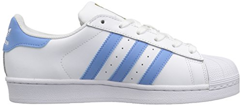 Womens Trainers Columbia Adidas Metallic White Leather Superstar Blue Gold Oqwdxdp6zn