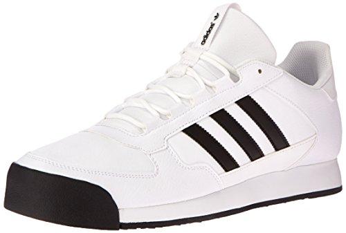 adidas Originals Men's Samoa Runner Shoe,White/Black/Black,14 ...
