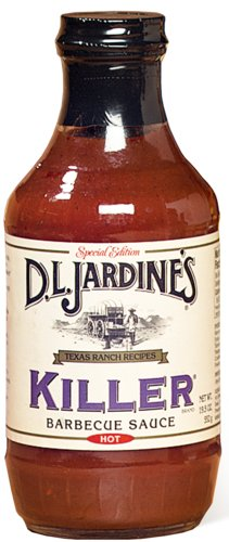 D.L. Jardines Killer BBQ Sauce 18 oz(Pack of 4)