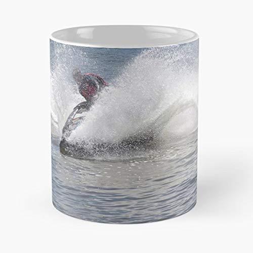 Jet Ski Tea, Coffee Mugs Funny Girf For Holiday. (Jet Ski Mug)