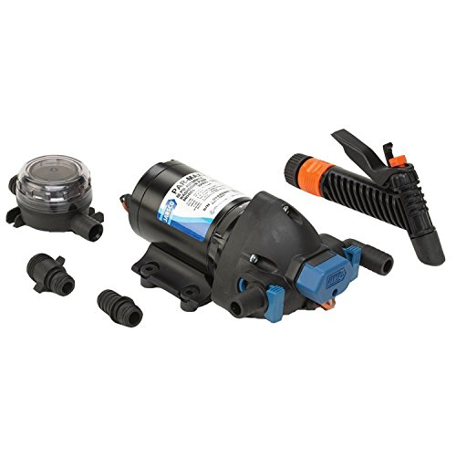 Jabsco 32605-0092 Marine ParMax 4.0 GPM Washdown Pump Kit, 60 PSI, 12 ()