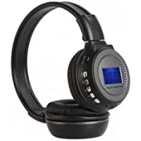 Fone de Ouvido Bluetooth Sem Fio Radio Fm Stereo Cinza - N65s